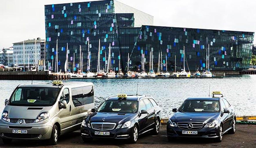taxi à Reykjavik en Islande