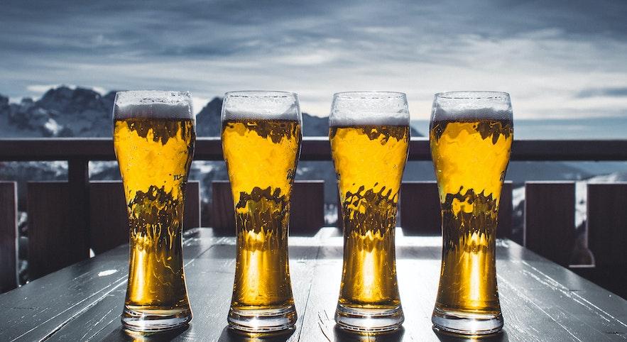 Besonders bei Alkohol lohnt es sich, im Duty Free in Island zu shoppen
