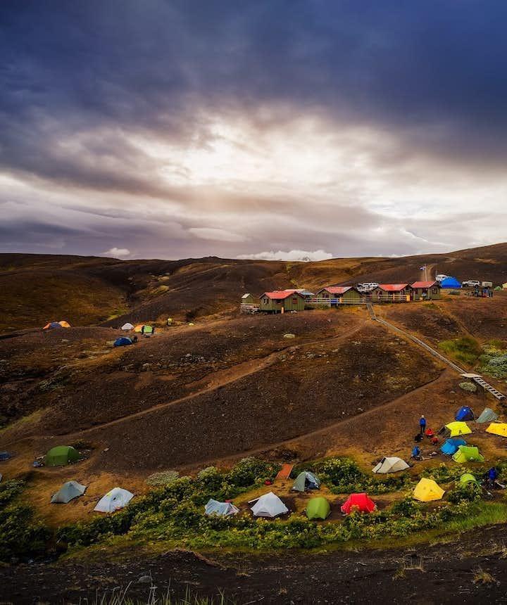 camping au coeur de la nature islandaise