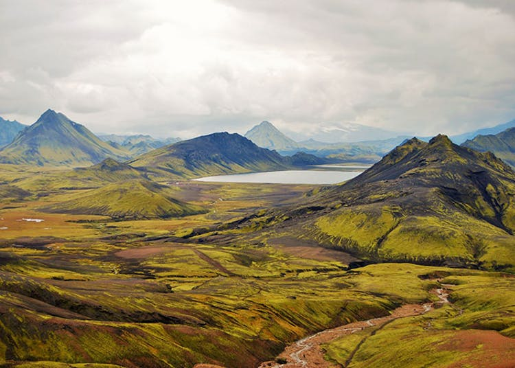 The Central Highlands of Iceland are only accessible during the summertime.