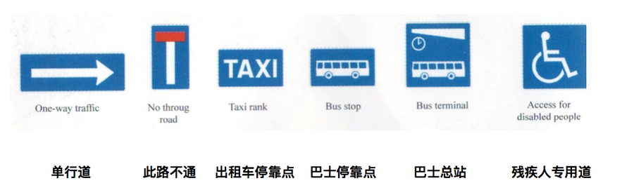 冰岛出租车常常有专门停靠地区,会有相应的路标指明