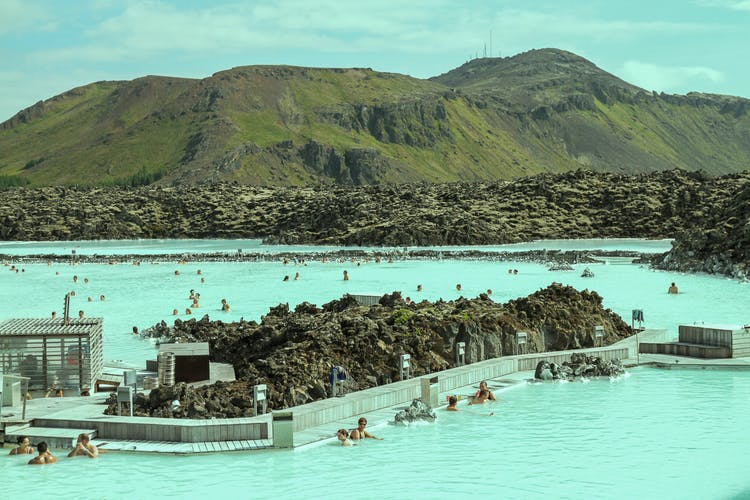 Take a private 3-day tour of Iceland's Highlights and visit the Blue Lagoon Spa.