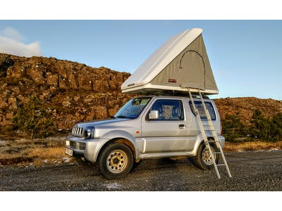 Suzuki Jimny + Roof Top Tent 2014