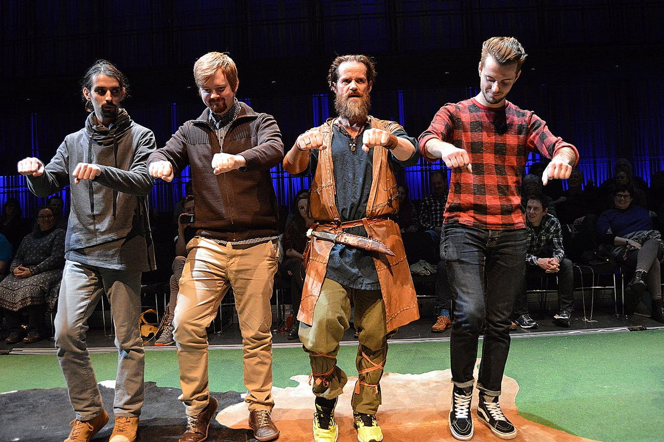 A Hilarious Comedy Show on the Icelandic Sagas in 75 Minutes