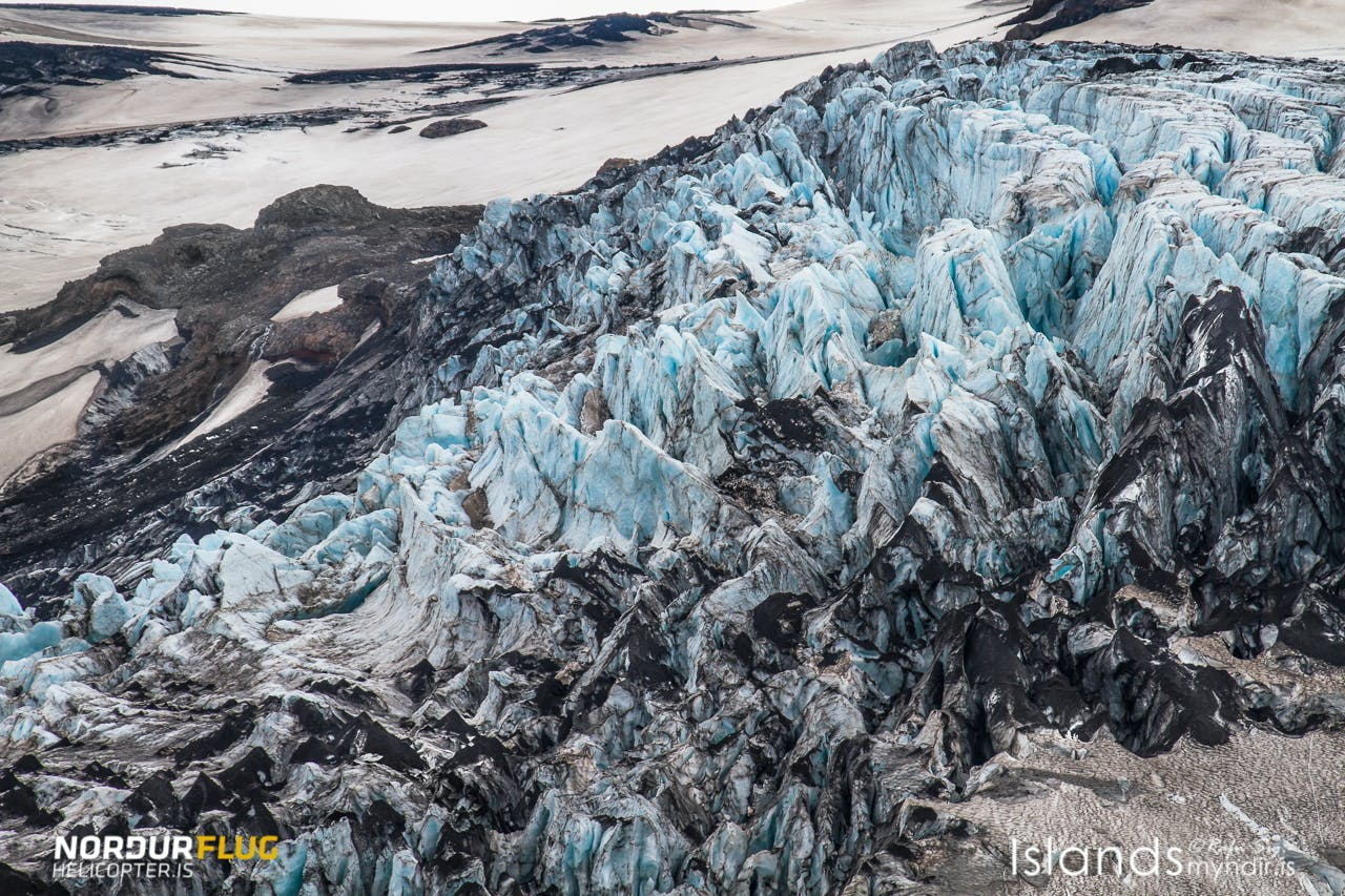 Helicopter Tour | The South Coast, Jokulsarlon Glacier Lagoon & The Highlands