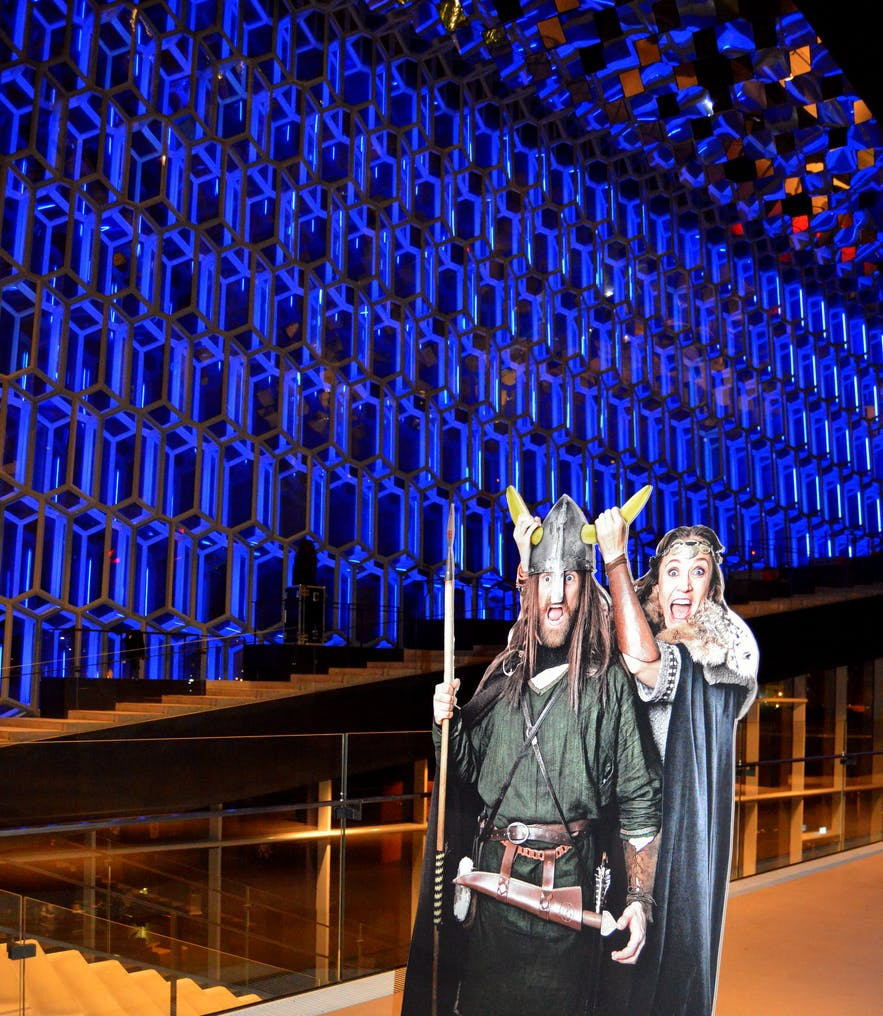 A Hilarious Comedy Show on the Icelandic Sagas in 75 Minutes at Harpa Concert Hall in Reykjavík