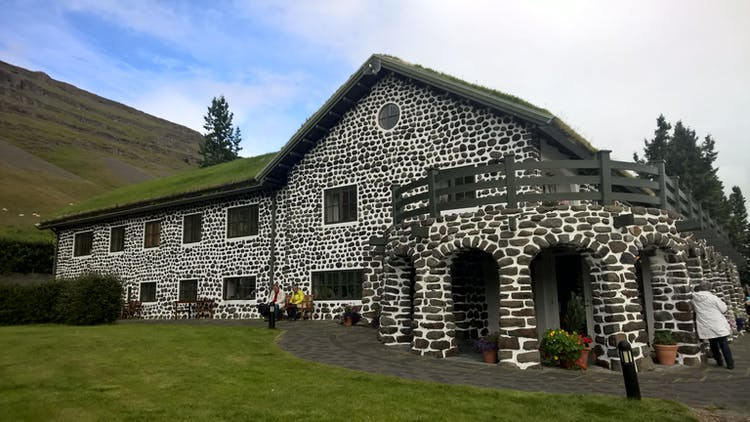 The East Fjords of Iceland have many tiny but very picturesque villages and buildings.