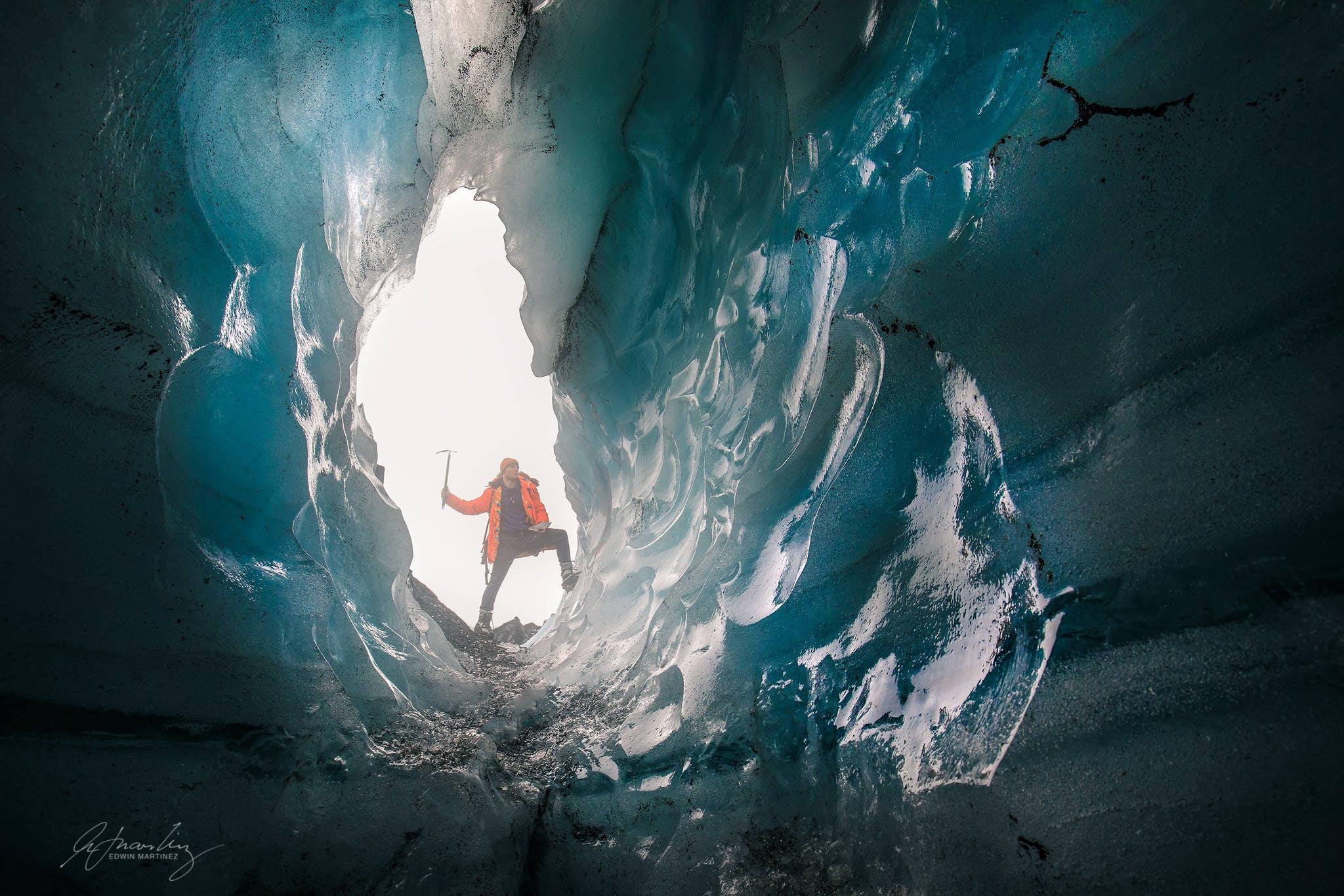 Południowe wybrzeże i lodowiec Solheimajokull - średni poziom trudności