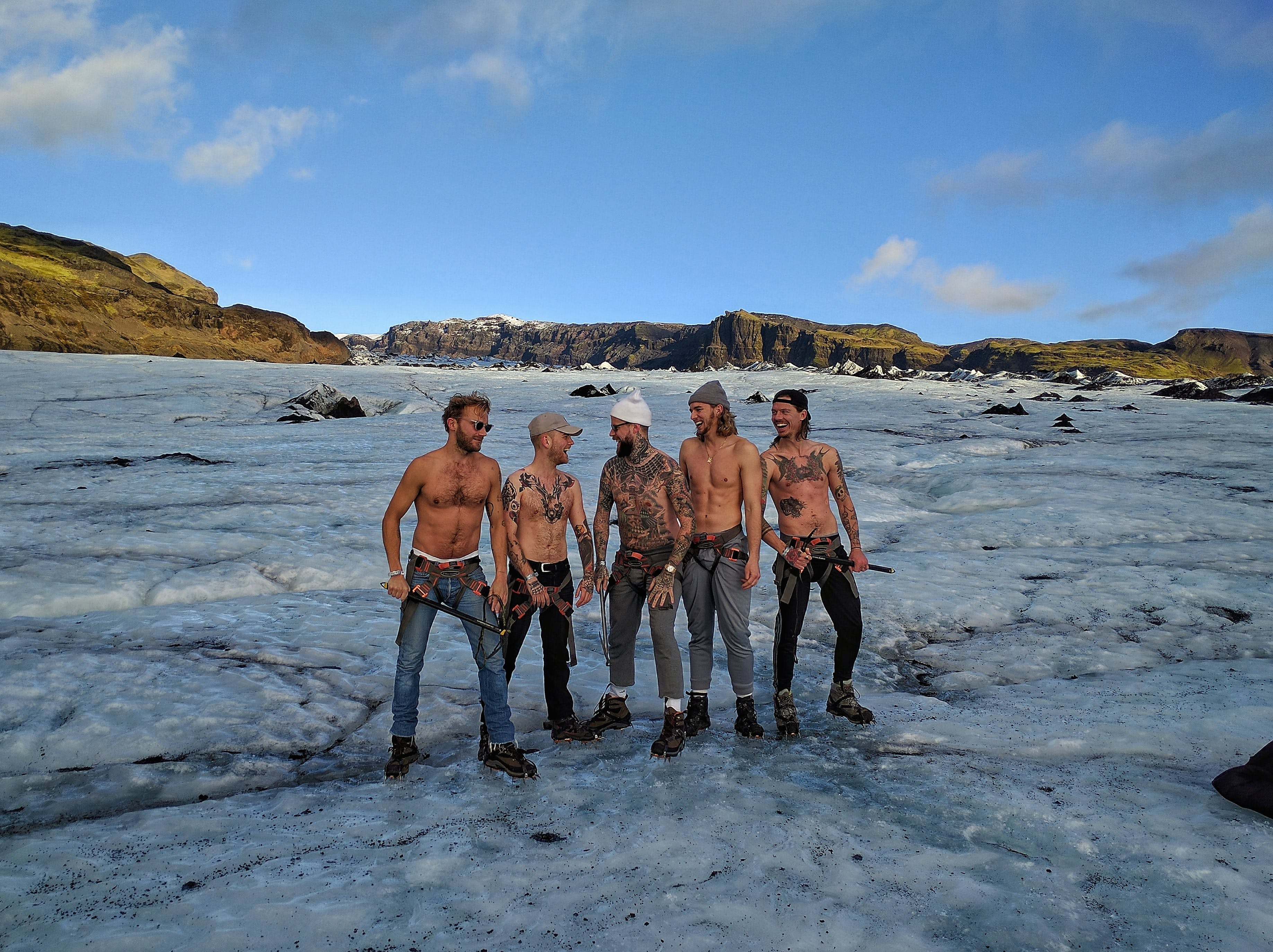 South Coast & Glacier Hike on Solheimajokull | Medium Difficulty