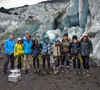 Great group morale is fundamental to a successful glacier hiking experience.