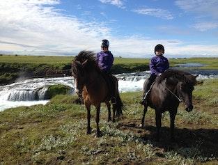 Ægisíðufoss Riding Tour
