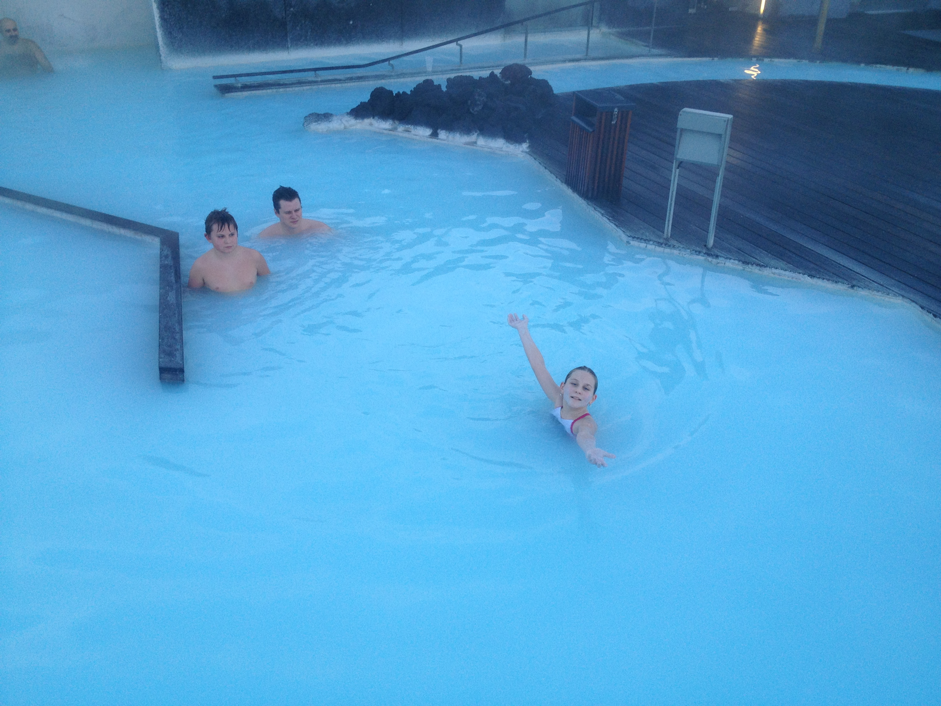 The Blue Lagoon Spa is a fantastic place to sit back, relax and beat the jetlag.