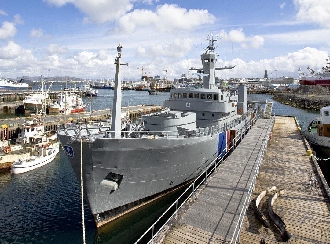 The Oðinn, a retired Coast Guard ship at the Reykjavik Maritime Museum