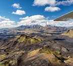 It is only possible to hike in the highlands during the summer months in Iceland.