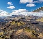 항공기 투어 | 화산, 남부 고원지대와 거대 빙하