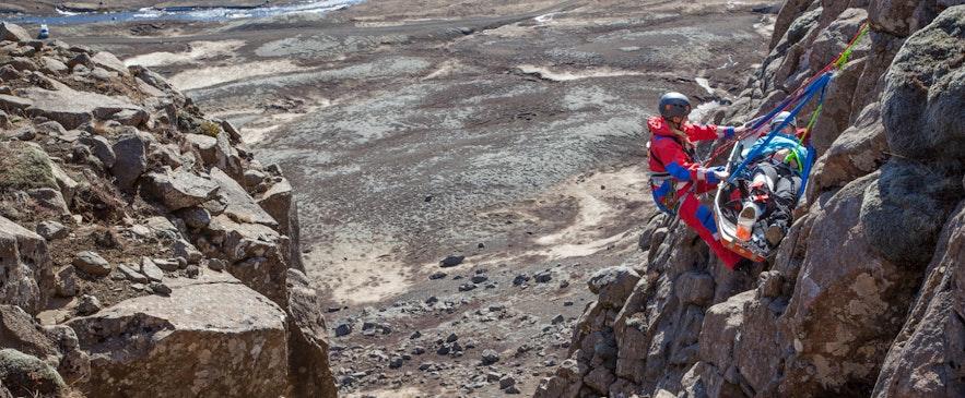 Akcja ratowników na Islandii