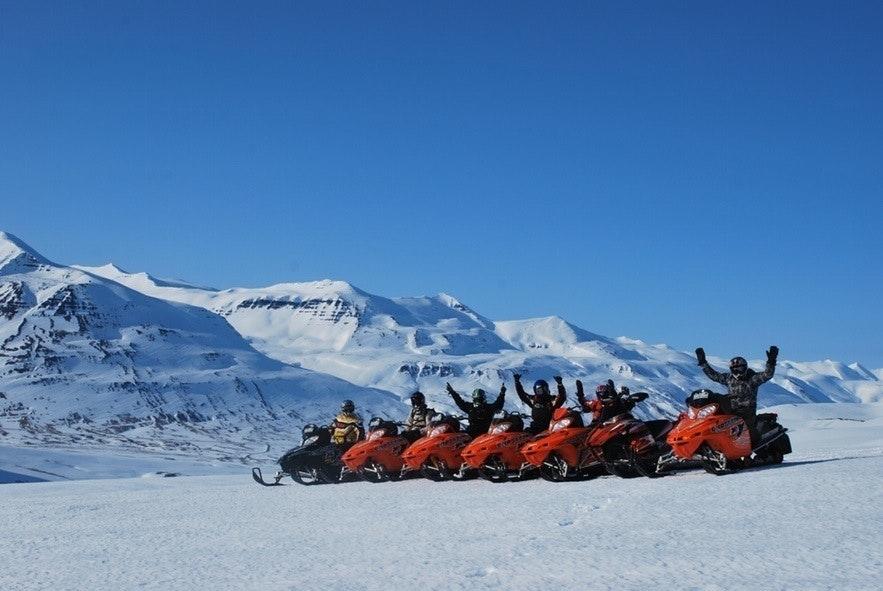 Akureyri snowmobile