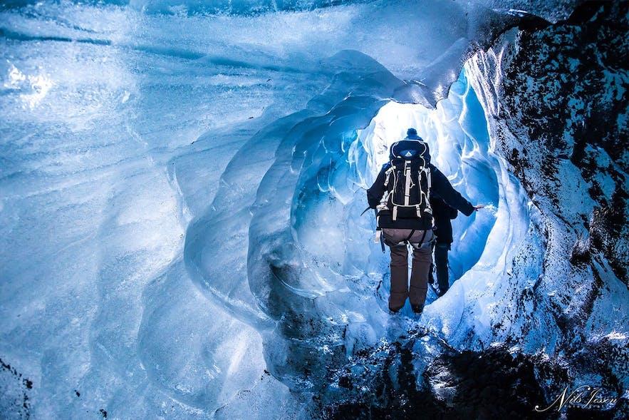 glacier icecave