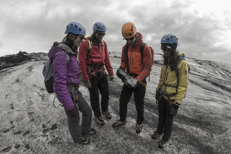 Join this Three-Day Sightseeing Tour and explore Sólheimajökull glacier by foot.