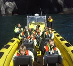 RIB Safari Boat Tours only hold enough room for small groups, ensuring a personal activity experience.