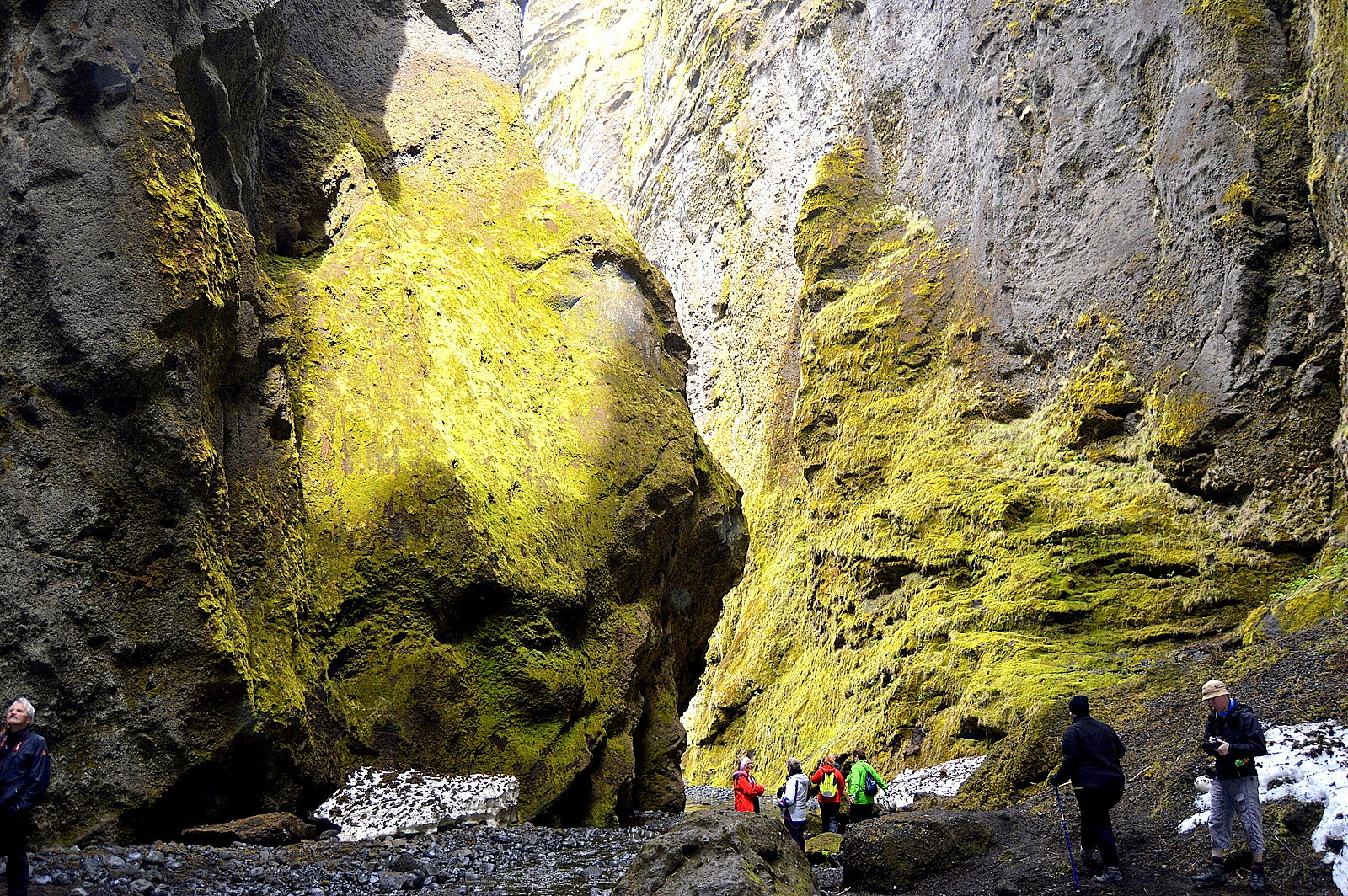 A Beautiful Hike In Stakkholtsgj 225 Canyon In South Iceland