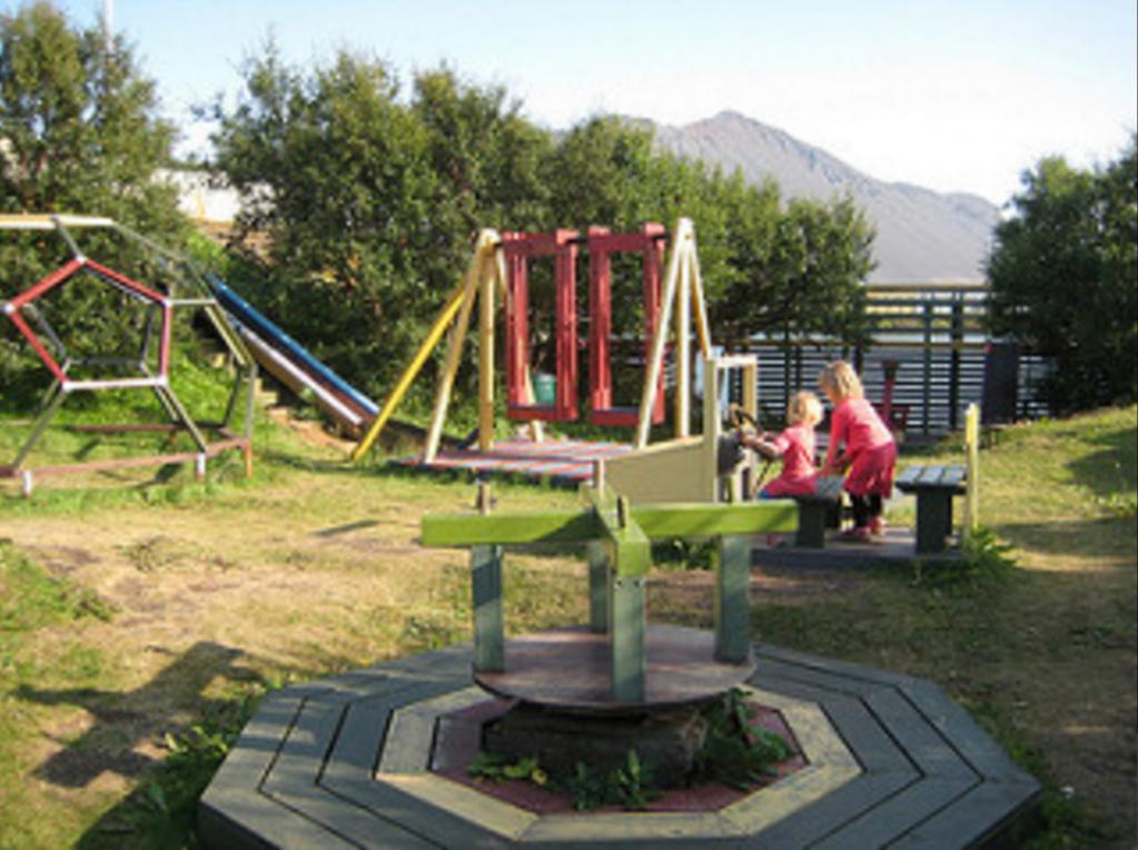 Bjössaróló playground in Borgarnes, Iceland