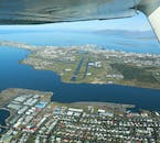 You will see Reykjavík from every corner and angle as you sail above it.