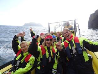 2 Hour RIB Boat Tour of Vestmannaeyjar