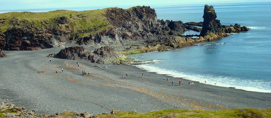 Djúpalónssandur lava beach Snæfellsnes