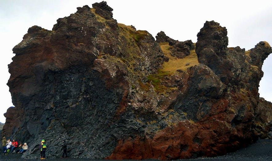 Djúpalónssandur & Dritvík - the Black Lava Pearl Beach on Snæfellsnes in West-Iceland