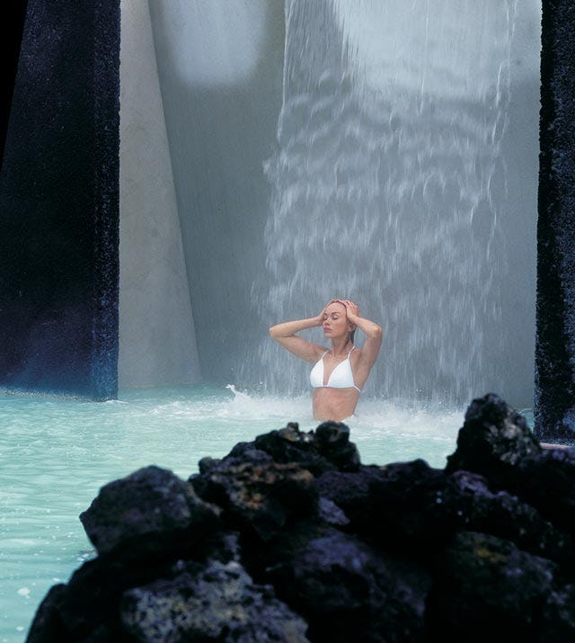 The Blue Lagoon is known to be one of Iceland's best spas!