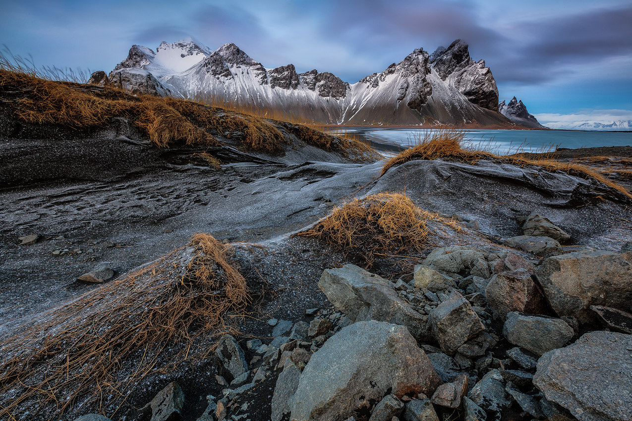 Vestrahorn is widely considered to be one of Iceland's most dramatic mountainscapes!