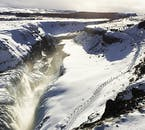 The great waterfall Gullfoss gets a makeover every winter when the snow arrives to Iceland.