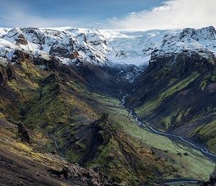 Wycieczka do doliny Thorsmork   Zobacz islandzki interior