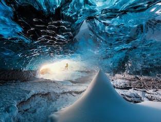 5일 겨울 아이슬란드 모험 - 투어와 렌트카 여행 혼합 패키지| 남부해안 가이드 투어 + 골든 서클 렌트카 여행