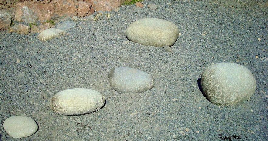 Djúpalónssandur beach Snæfellsnes- the lifting stones
