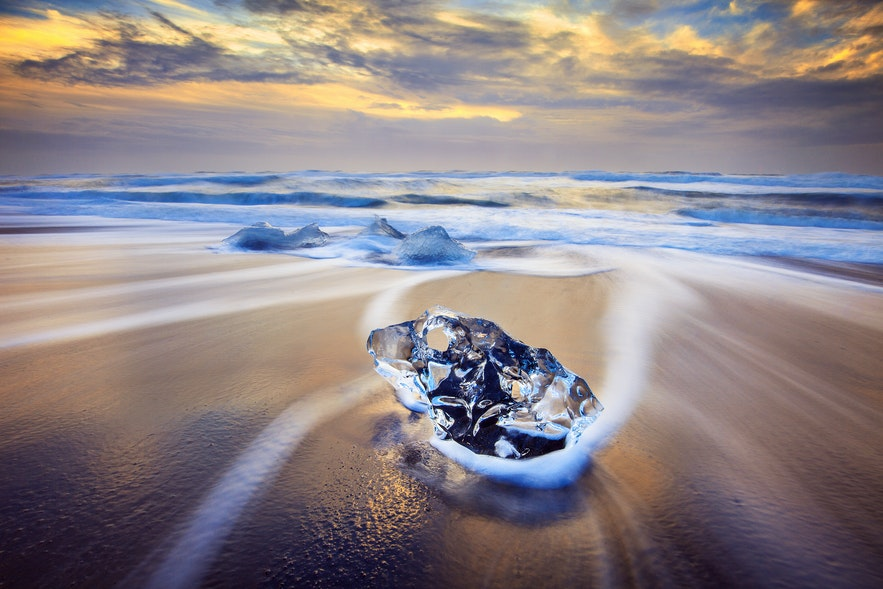 Jökulsárlón and the Icy Beach as Photography Locations