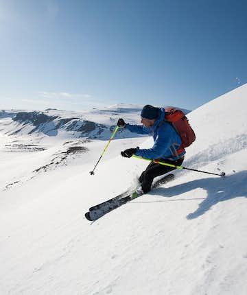 即使你是滑雪新手,在冰岛也可以轻易找到适合你的滑雪行程体验