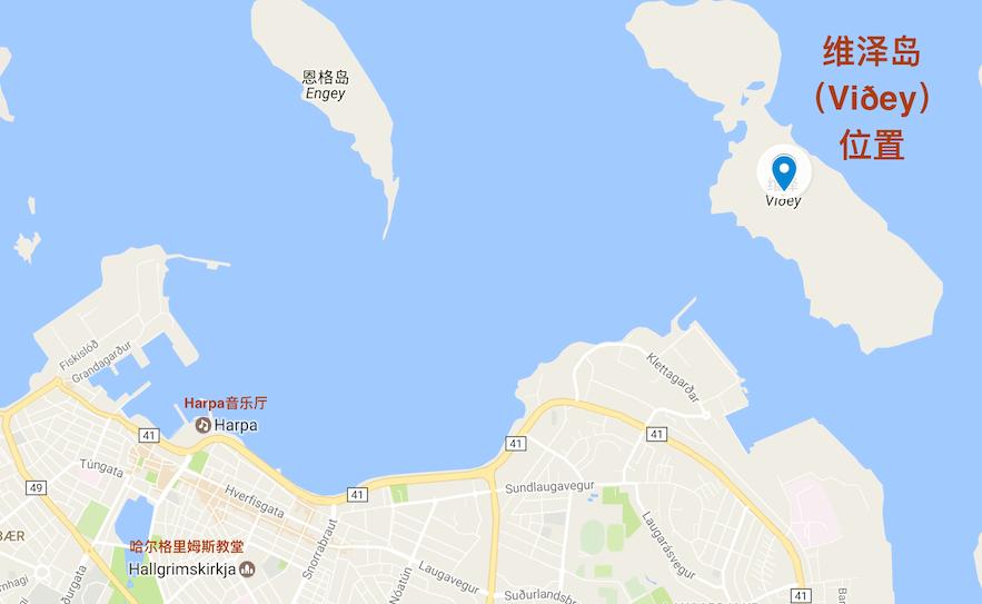 冰岛维泽岛Viðey