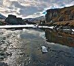 A riverbed in the East Highlands, Fljótsdalur, Iceland.