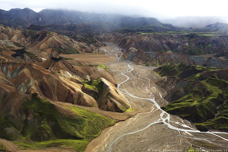 "Daerah ""Highland"" Islandia, Thorsmork"