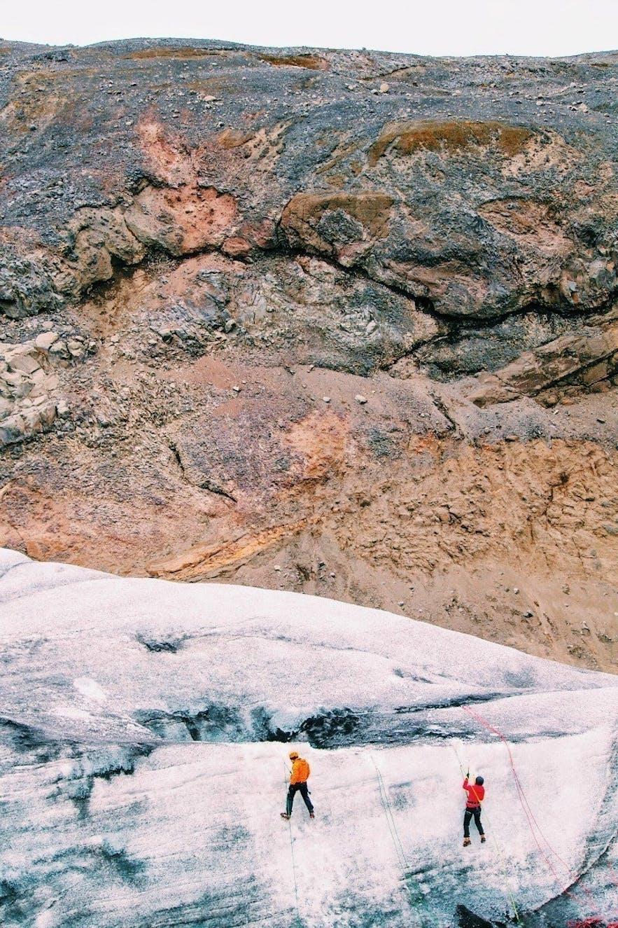 Glacier-hiking-Iceland-Solheimajökull
