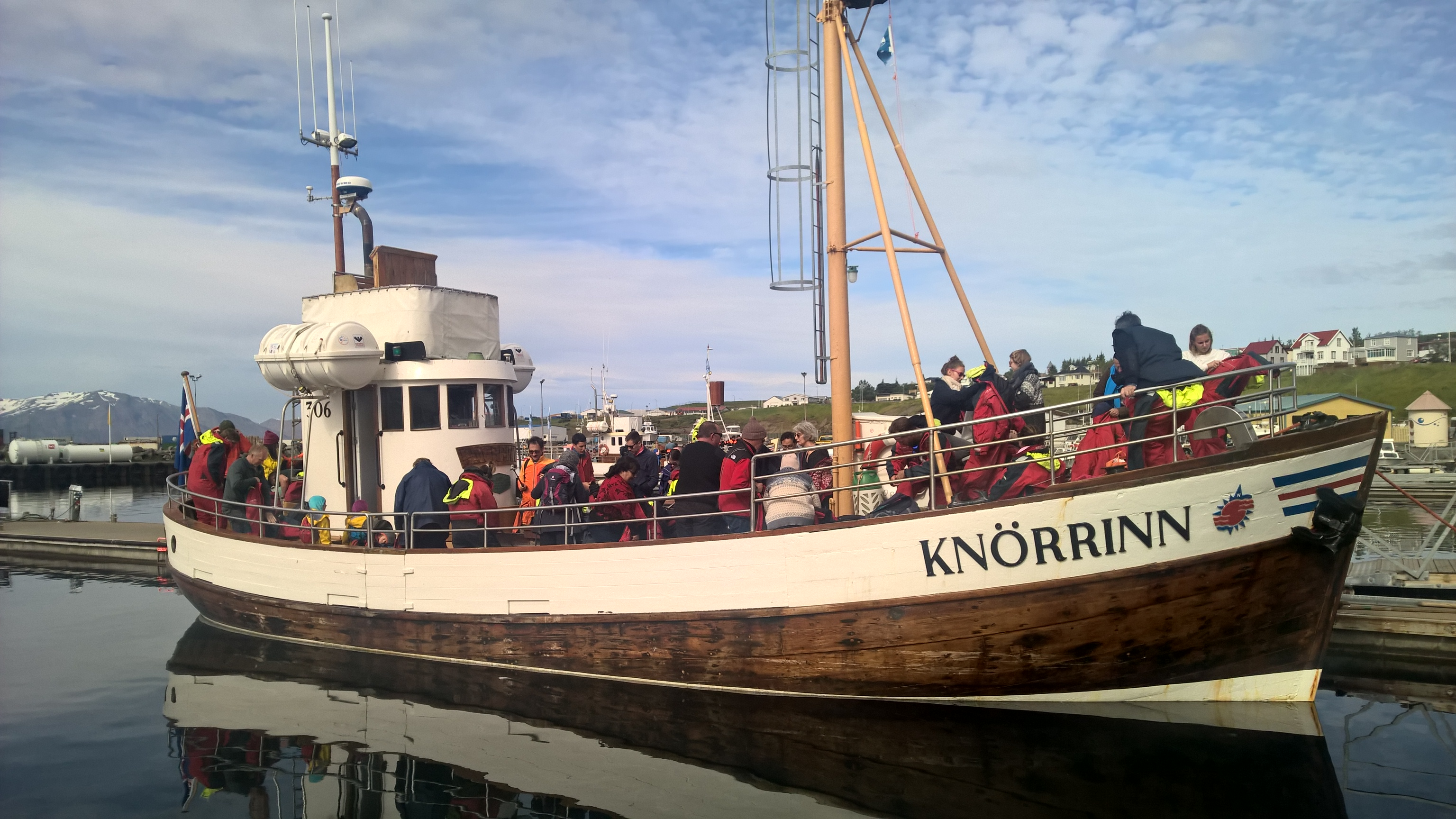 Húsavík is widely considered to be the whale watching capital of Iceland.