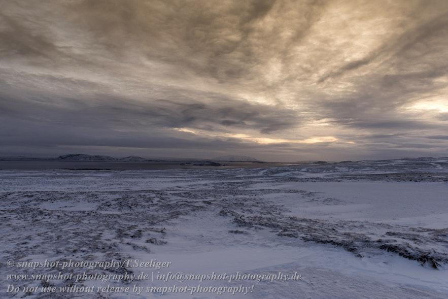 Am Ufer des Laugarvatn