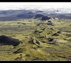 The Lakagigar craters, in the Icelandic south, are little visited.