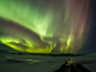 Northern Lights Hunt in a Super Jeep