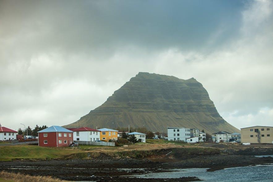 Mount Kirkjufell from Grundarfjördur