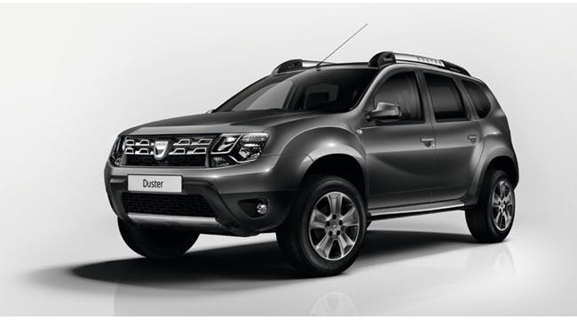 Dacia Duster with Roof Tent 2017