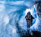 Ice caves are not guaranteed but do form in Skaftafell.