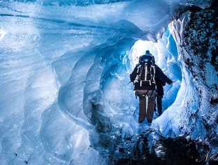 Skaftafell glacier expedition